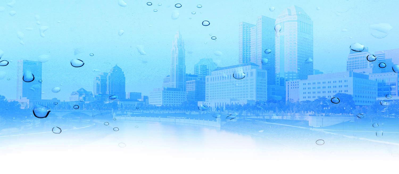 Columbus water background
